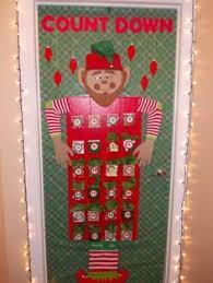2013 Christmas office door decoration (Advent Calendar made from cardboard)
