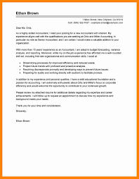 9 Sample Accountant Cover Letter Sap Appeal
