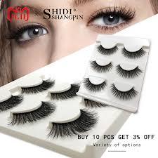[+] New <b>3 pairs natural</b> false eyelashes fake lashes long makeup 3d ...