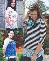 Love Notions Patterns Best Love Notions Tabitha Top Downloadable Pattern