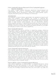 Good Network Engineer Resume Examples. Network Technician Resume ...