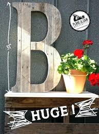 decoration rustic wooden wall letters tall o guest book letter b wood uk
