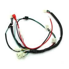 wiring harness quad electric cdi coil wire for zongshen lifan ducar wiring harness loom for zongshen 190cc electric start engine dirt motorcycle