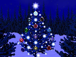 free christmas tree wallpaper.  Wallpaper Free Christmas Tree Wallpaper Blue Lights  In Wallpaper L