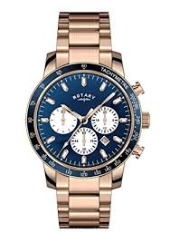 rotary mens gb00355 05 rose gold chronograph watch amazon co uk rotary mens gb00355 05 rose gold chronograph watch