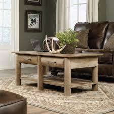 sauder boone mountain wood coffee table