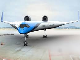 New Airplane Wing Design New V Shaped Airplane Design Aims To Place Passenger Seats