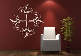 on art deco style wall decals with flora gracia wall decal art deco style for your home