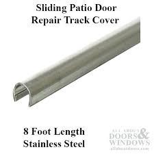 fix sliding door exterior sliding door track tracks for doors intended garage runners designs fix sliding glass door wheels
