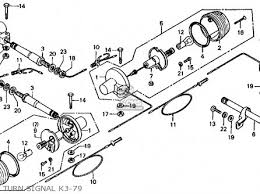 honda ct70 trail 70 1974 ct70k3 usa parts lists and schematics turn signal k3 79