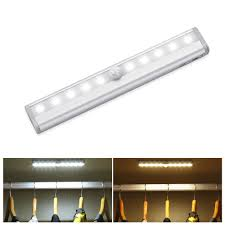 Battery Powered 6 Led Closet Light With Motion Sensor Under Stairs Lighting Battery Pogot Bietthunghiduong Co