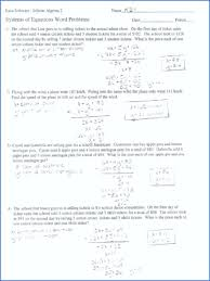 algebra 1 word problems worksheet with answers age word problems worksheet with answers fresh systems linear