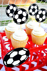 Soccer Ball Icing Decorations 100 best Party Decorations Creativities Galore images on 89