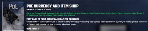 Best Poe Currency Site Buy Poe Currency Cheap Poe Goods