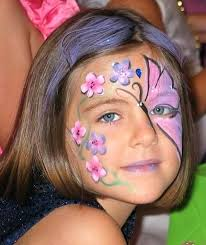 erfly face painting images erfly face paint easy step by step