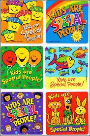 Kids Are Special Stickers X 6 Teachers Reward Charts Merit