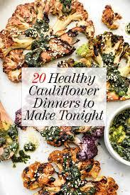 20 easy healthy cauliflower recipes for