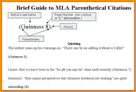 Mla In Text Citation Worksheet The Best Worksheets Image Collection