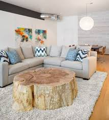 trends in furniture. a look into interior design trends 2017 tree stump table in furniture
