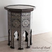 point furniture egypt x: craft furniture side table octagon l size egypt islamic geometric designs inlaid furniture mother of pearl egypt raden table