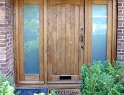 wood front doorsWooden Front Doors  External Solid Oak  Glazed Exterior Front