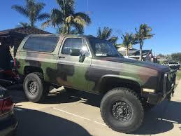 Blazer chevy blazer : BangShift.com This 1984 M1009 Military Blazer Is How Chevrolet ...