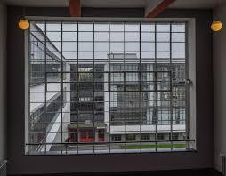 Bauhaus Fenster Stunning Die Wurden In Eine Neue Montiert Foto