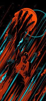basketball iphone x wallpaper hd