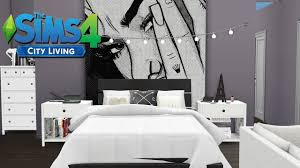 TUMBLR STUDIO APARTMENT The Sims  City Living Speed Build - Studio apartment tumblr