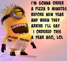 funny minion new year e