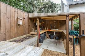 workbench ideas garage and shed traditional with awning birhouse raised planters wood countertop workbench1