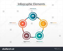 Box And T Chart Template Infographic Business Timeline Process Chart Template Stock