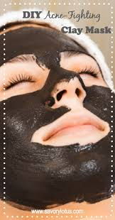 diy cleansing clay mask activated charcoal