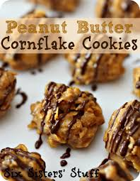 peanut butter balls with corn flakes. In Peanut Butter Balls With Corn Flakes