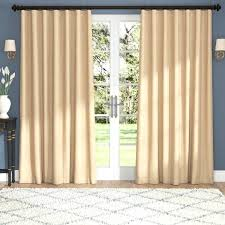 wide panel curtains thermal blackout for sliding glass doors