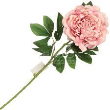 <b>Цветок искусственный декоративный</b> Пион <b>розовый</b> Y3-1547 I.K ...