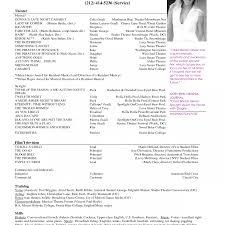 Free Musician Resume Template Amazing Classical Musician Resume Examples Contemporary Example 39