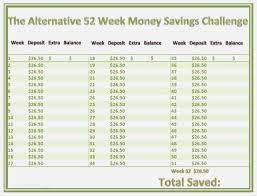 Saving Money Chart 52 Week 45 Intrepid 45 Week Money Challenge Printable Paigehohlt