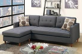 gray fabric sectional sofa. Toiba Grey Fabric Sectional Sofa Gray