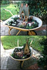 cozy lawn and garden decor wheelbarrow fairy garden kmart lawn and garden decor