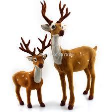 Aliexpress.com : Buy Christmas decoration deer plush christmas reindeer  crafts navidad indoor or outdoor from Reliable reindeer animal suppliers on  I wanna ...