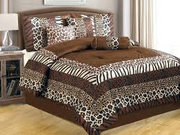 leopard print bed set image of leopard print bedding queen animal print comforter sets twin