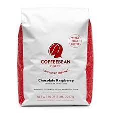 Sometimes you can combine the flavors, like chocolate hazelnut or vanilla coconut. Amazon Com Coffee Bean Direct Chocolate Raspberry Flavored Whole Bean Coffee 5 Pound Bag Roasted Coffee Beans Grocery Gourmet Food