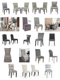 grey dining chairs and dining chair slipcovers upholsterease