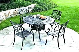 iron patio furniture garden cast outdoor table set fresh antique cropped crate and b