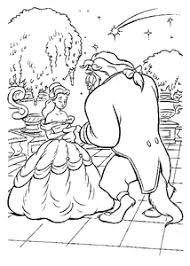 Belle En Het Beest Kleurplaten Animaatjesnl