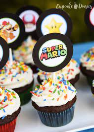 5 out of 5 stars (22) 22 reviews $ 2.49. Super Mario Bros Cupcakes With Free Printable Toppers