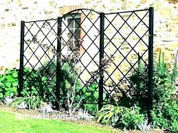 full size of black wrought iron garden trellis trellises panels arch likable metal rod large for