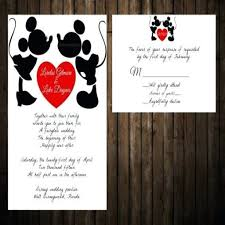 mickey and minnie wedding invitation sending a mouse baby shower