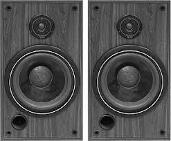 infinity home speakers. infinity sm-105 speakers (pair) - black home